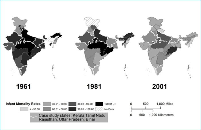 Figure on Literacy Rates in India