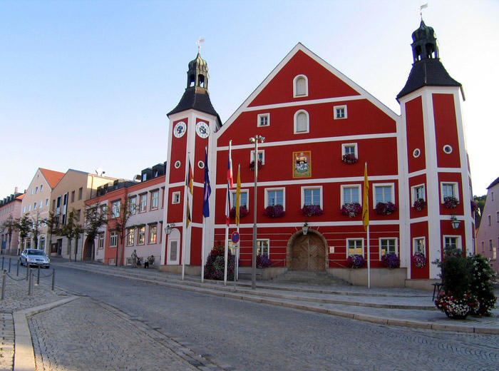 Image of City Hall in Bavaria, Germany
