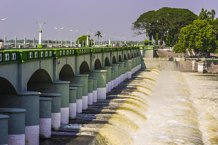 Image of Grand Anaicut Dam in India