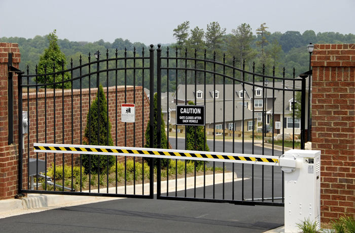 Image of gated community