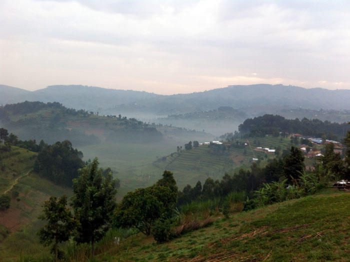 Image of Burera district, Rwanda