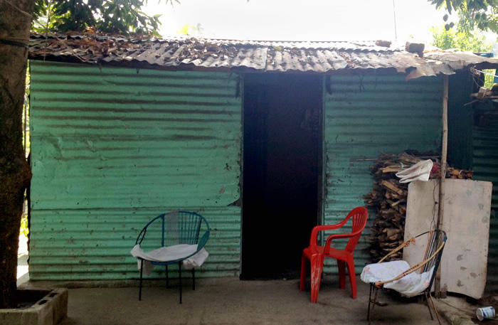 Image of a house where a young woman miscarried