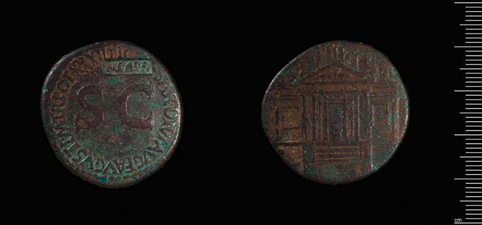 Image of sestarii coins