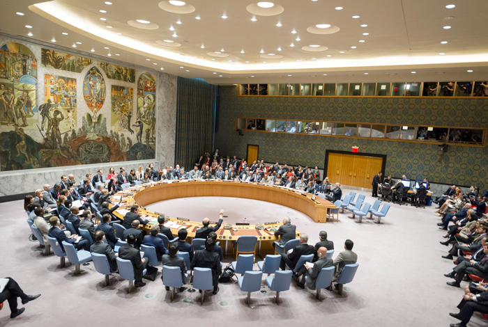 Image of Security Council Resolution