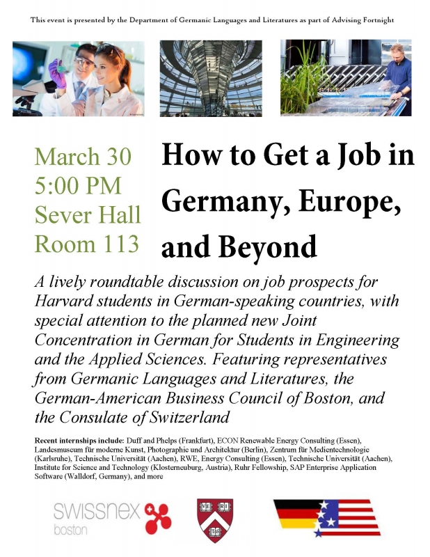 How to Get a Job in Germany, Europe, and Beyond | DEPARTMENT