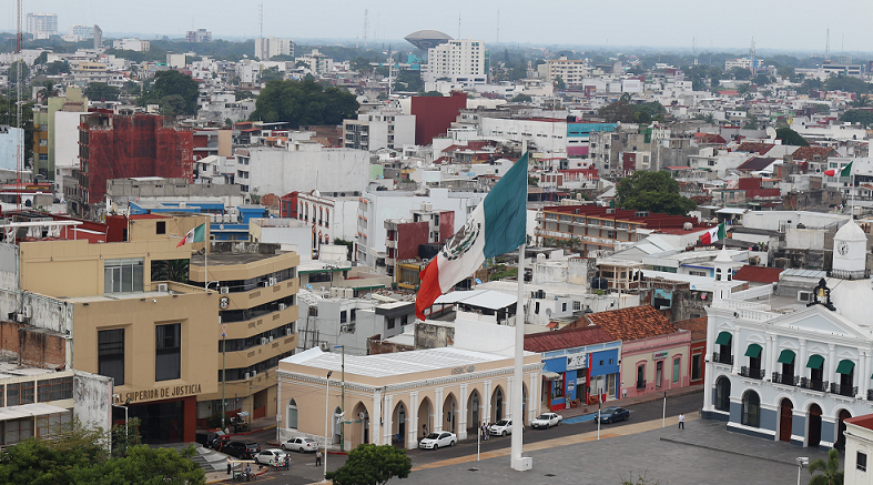 city scene in tabasco mexico
