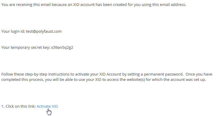 XID-email
