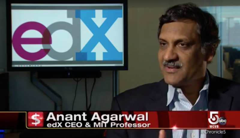 Anant Agarwal, CEO of edX