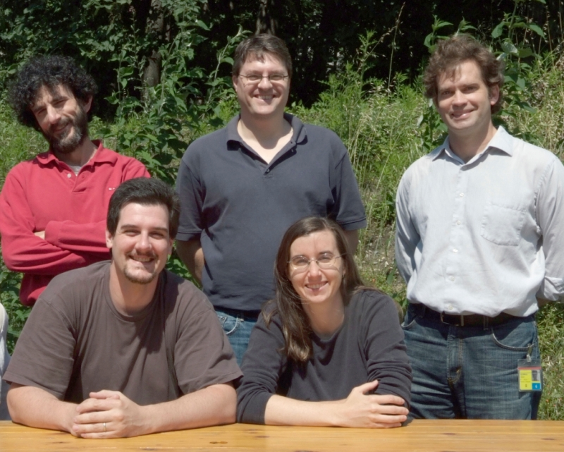 Members of the collaborative team in Grenoble, France