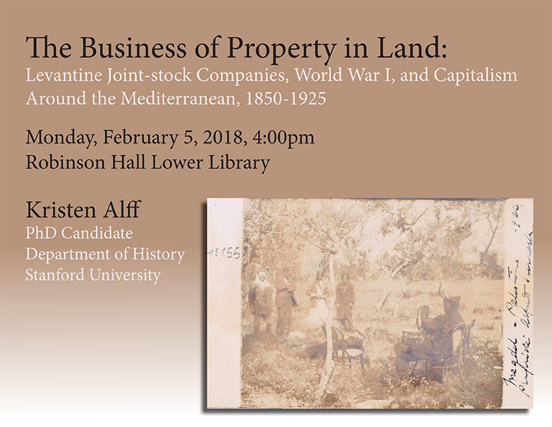 The Business of Property in Land: Levantine Joint-stock Companies