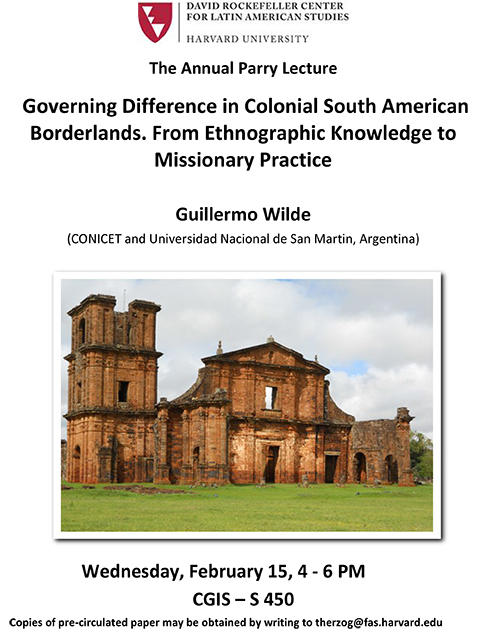 drclas governing difference in colonial south american borderlands
