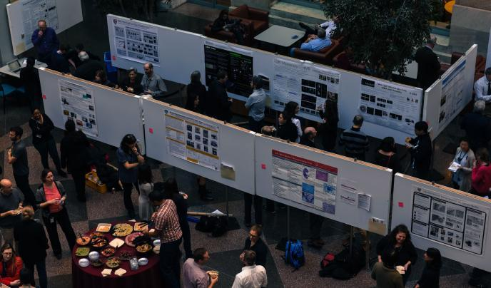 Poster session pic
