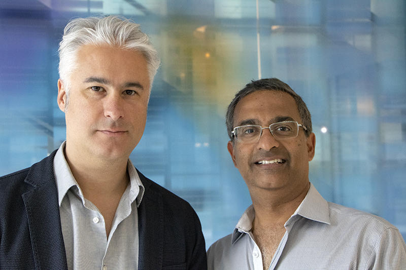 Portrait of Mario Suva and Ramesh Shivdasani, 2018