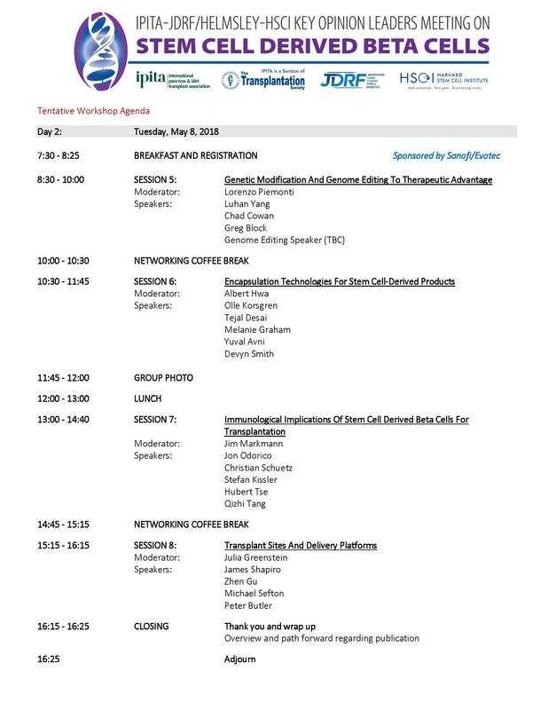 IPITA agenda day two image