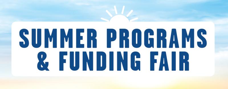 Summer Funding Fair title image