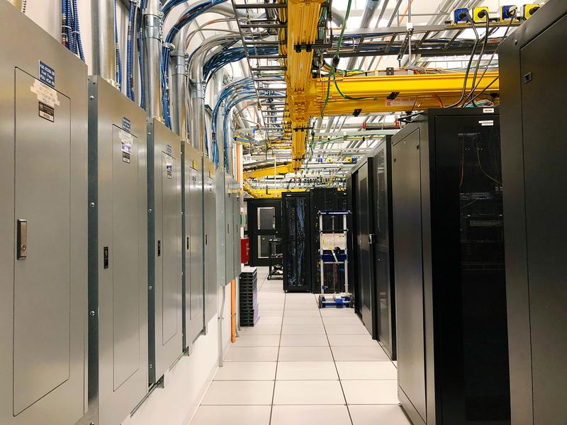 Image of DRS data storage center