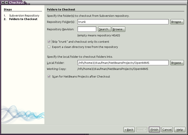 NetBeans screen 2