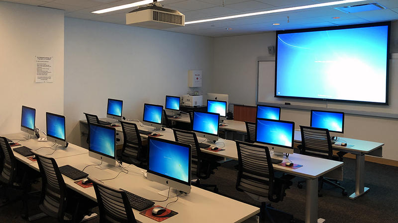 computer training lab research technology
