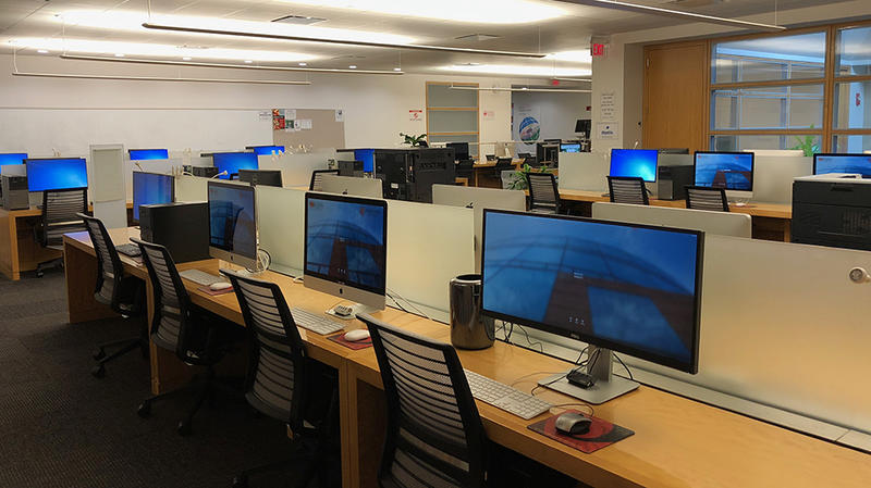 Concourse Computer Lab Research Technology