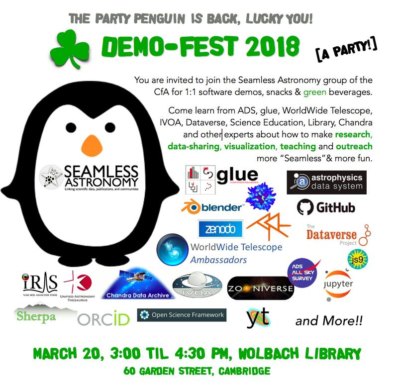 Demo Fest Invite with Penguin