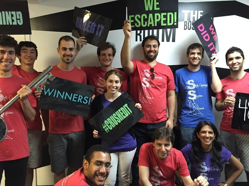 Group 2015 escape the room event
