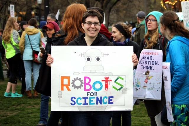 March for science, April 2017