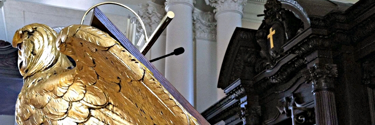 Listen: Lectern in the Memorial Church