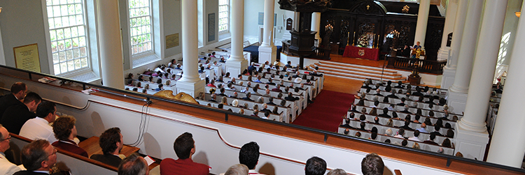 Sunday Services at the Memorial Church