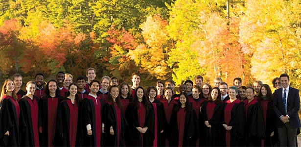 The Harvard University Choir (Photo: Arturo R. Rolla)