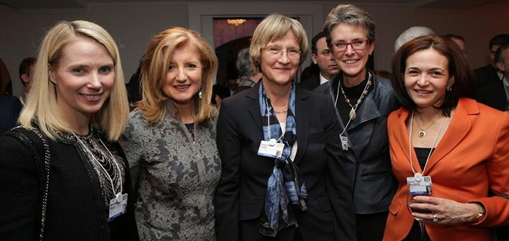 Drew Faust and friends