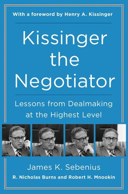 Image of book cover of Kissinger the Negotiator