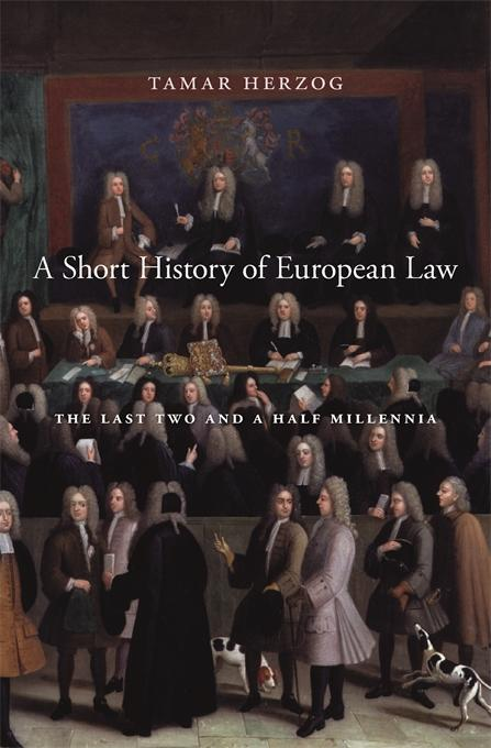 book cover for A Short History of European Law