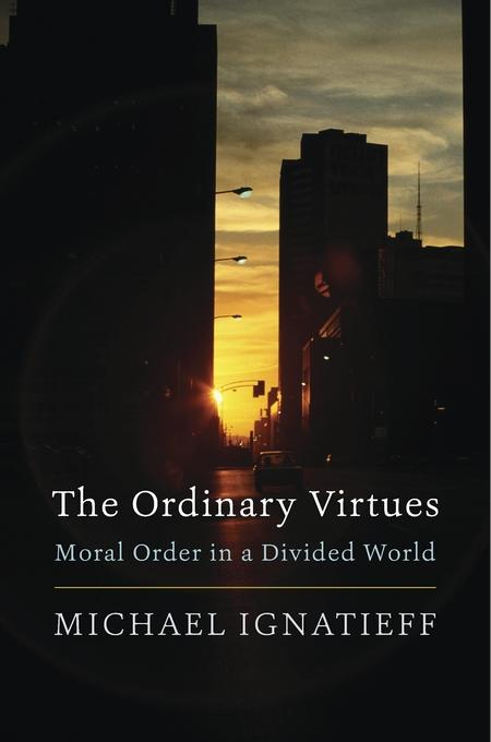 Image of book cover of The Ordinary Virtues