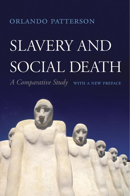 book cover for Slavery and Social Death