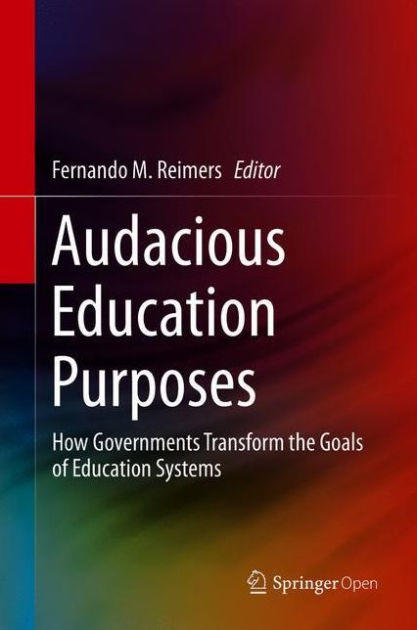 Image of book cover for Audacious Education Purposes
