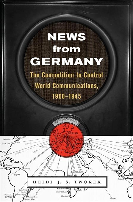 book cover for News from Germany