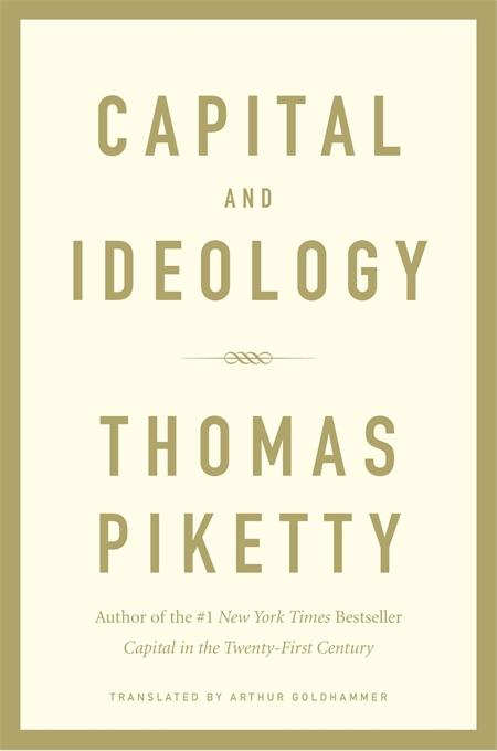 Book cover for Thomas Piketty's Capital and Ideology