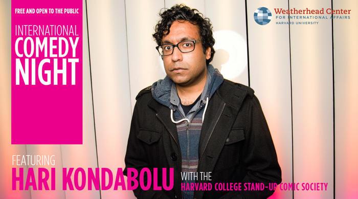 Image of Hari Kondabolu for International Comedy Night