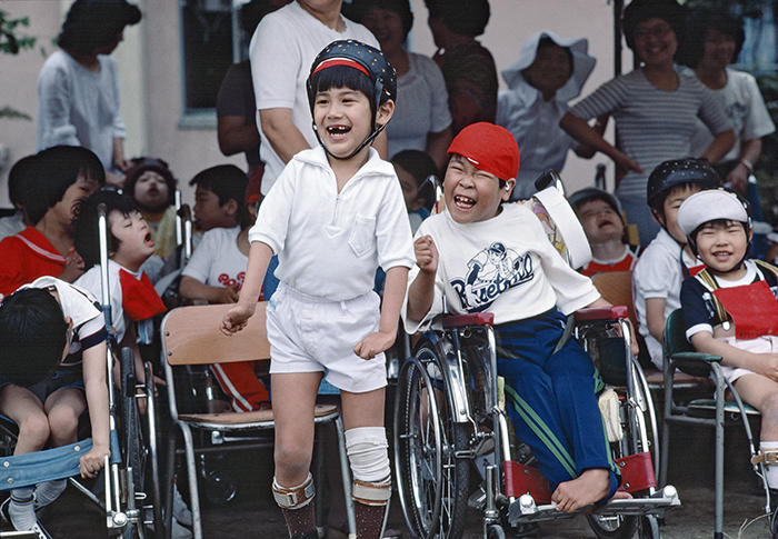 UN image of disabled children