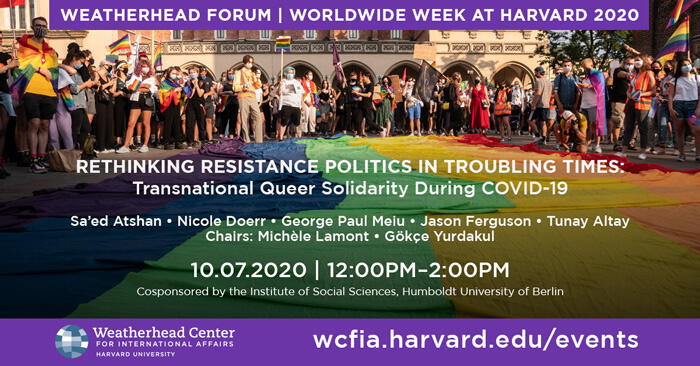 Graphic for Weatherhead Forum event