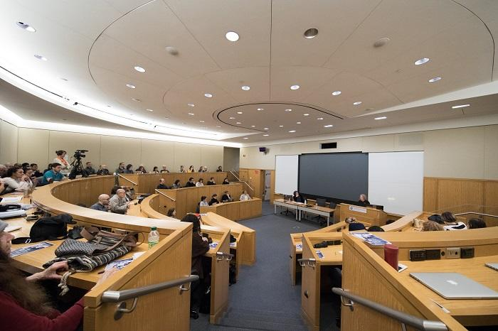 Image of the room where Nancy Fraser gave Jodidi Lecture