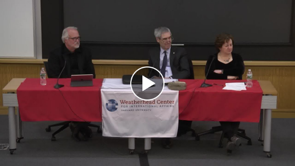 Video still of Jodidi Lecture panel