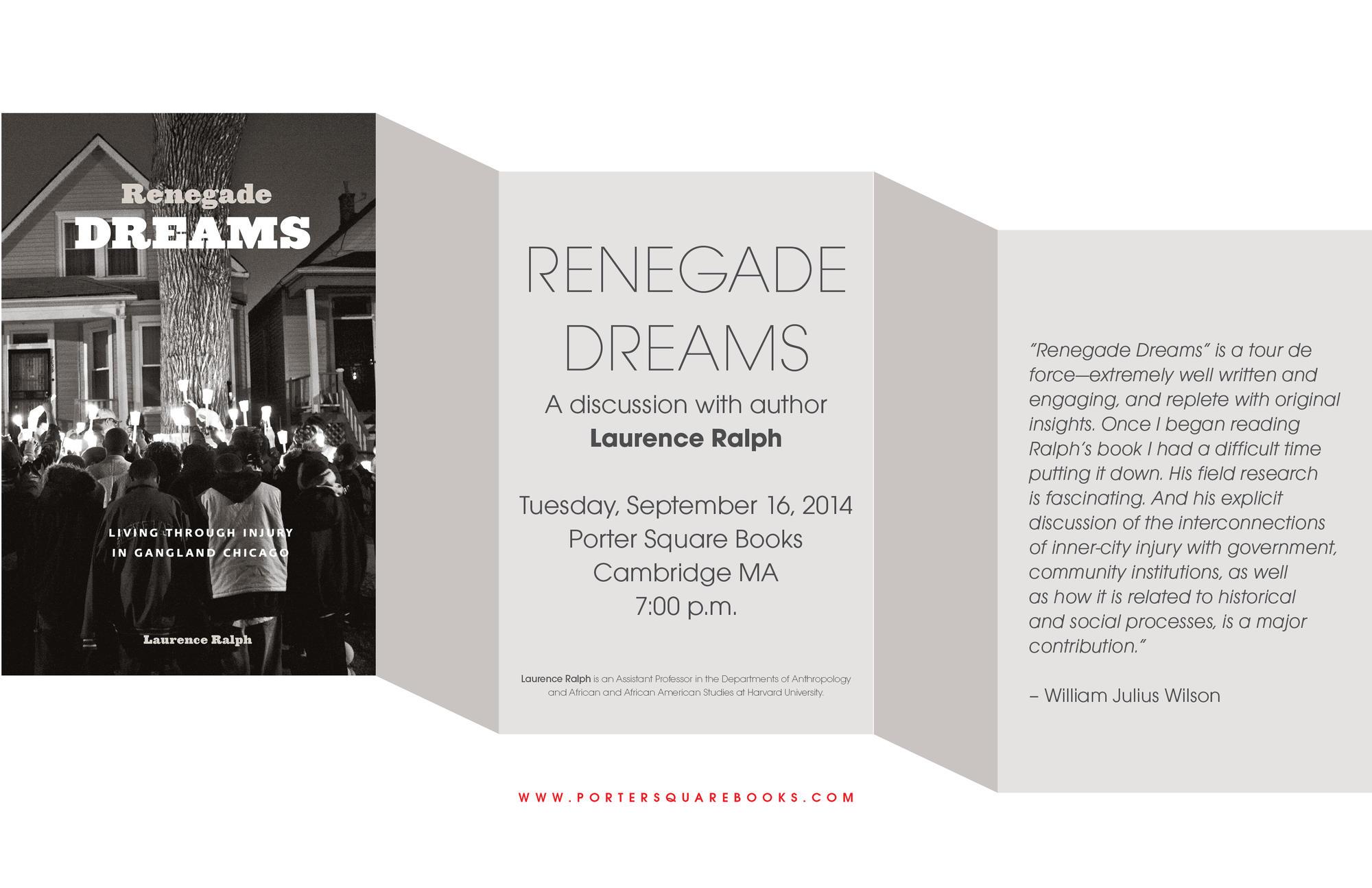 renegade dreams laurence ralph pdf