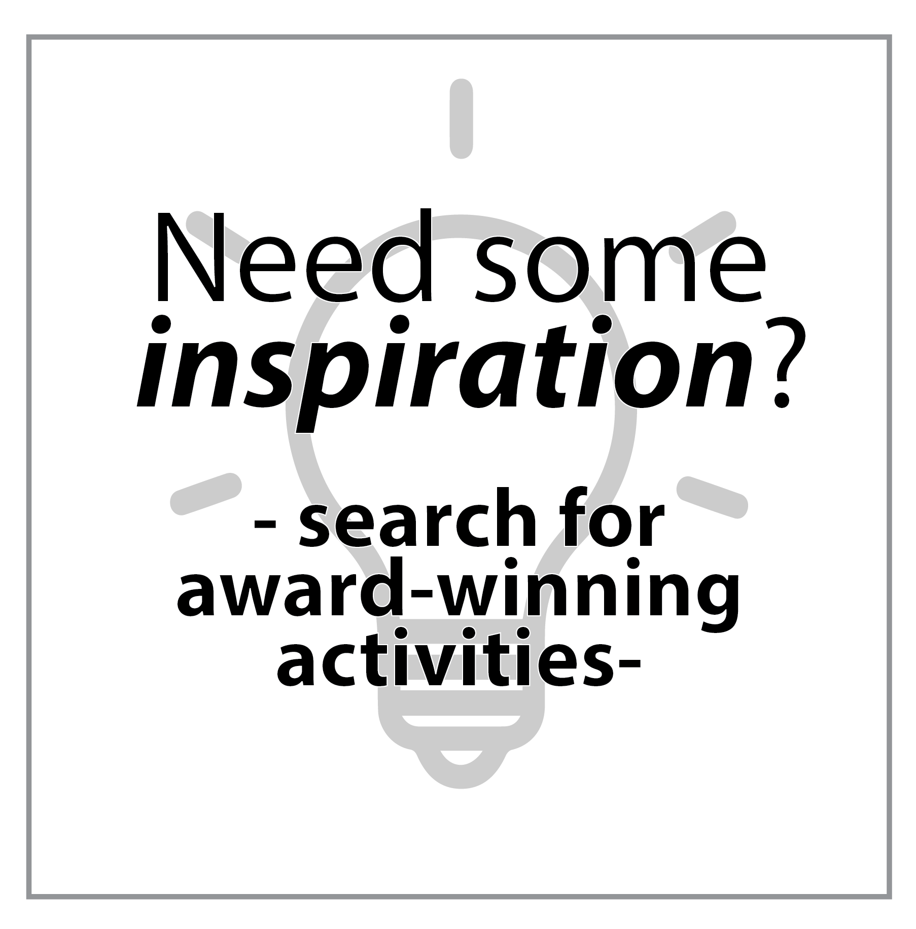 Search by winning activity