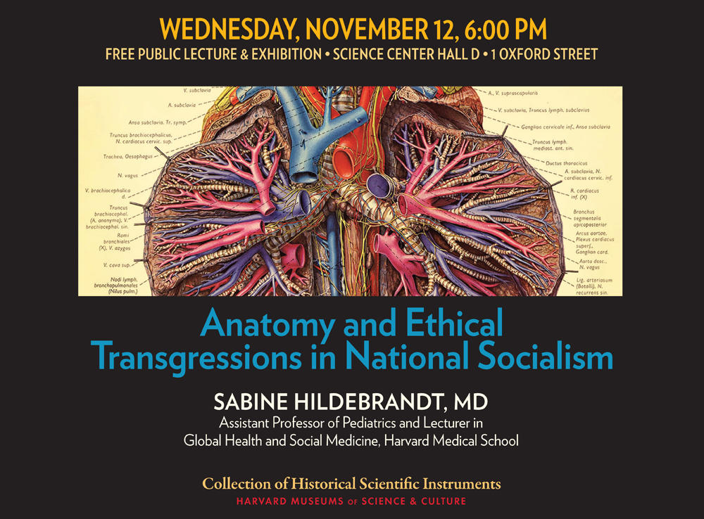 Anatomy and Ethical Transgressions in National Socialism event poster