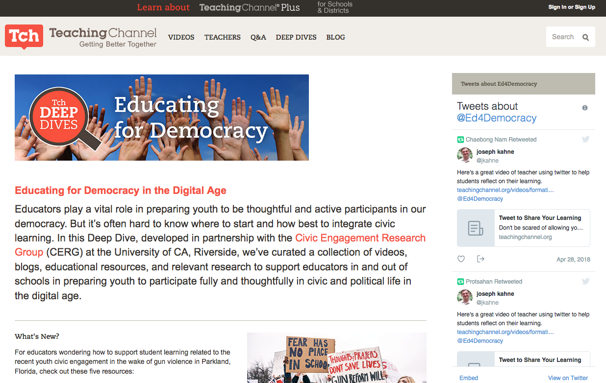 TeachingDemocracyChannel