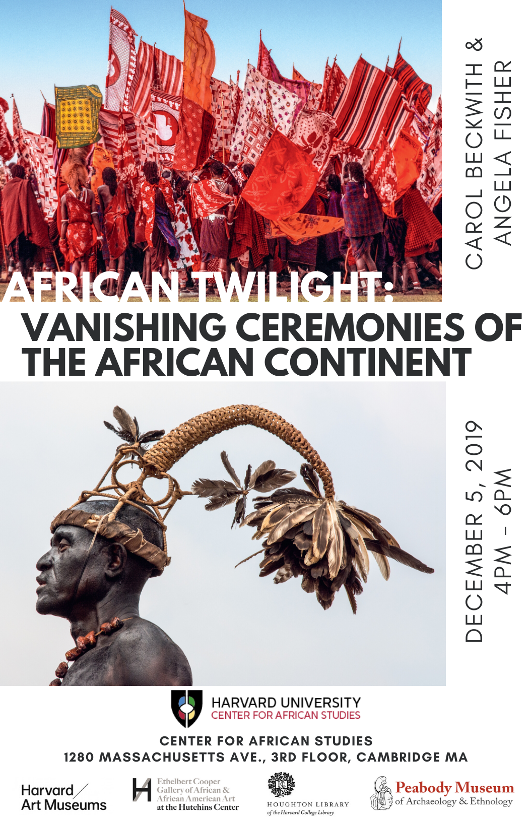 African Twilight Event Poster