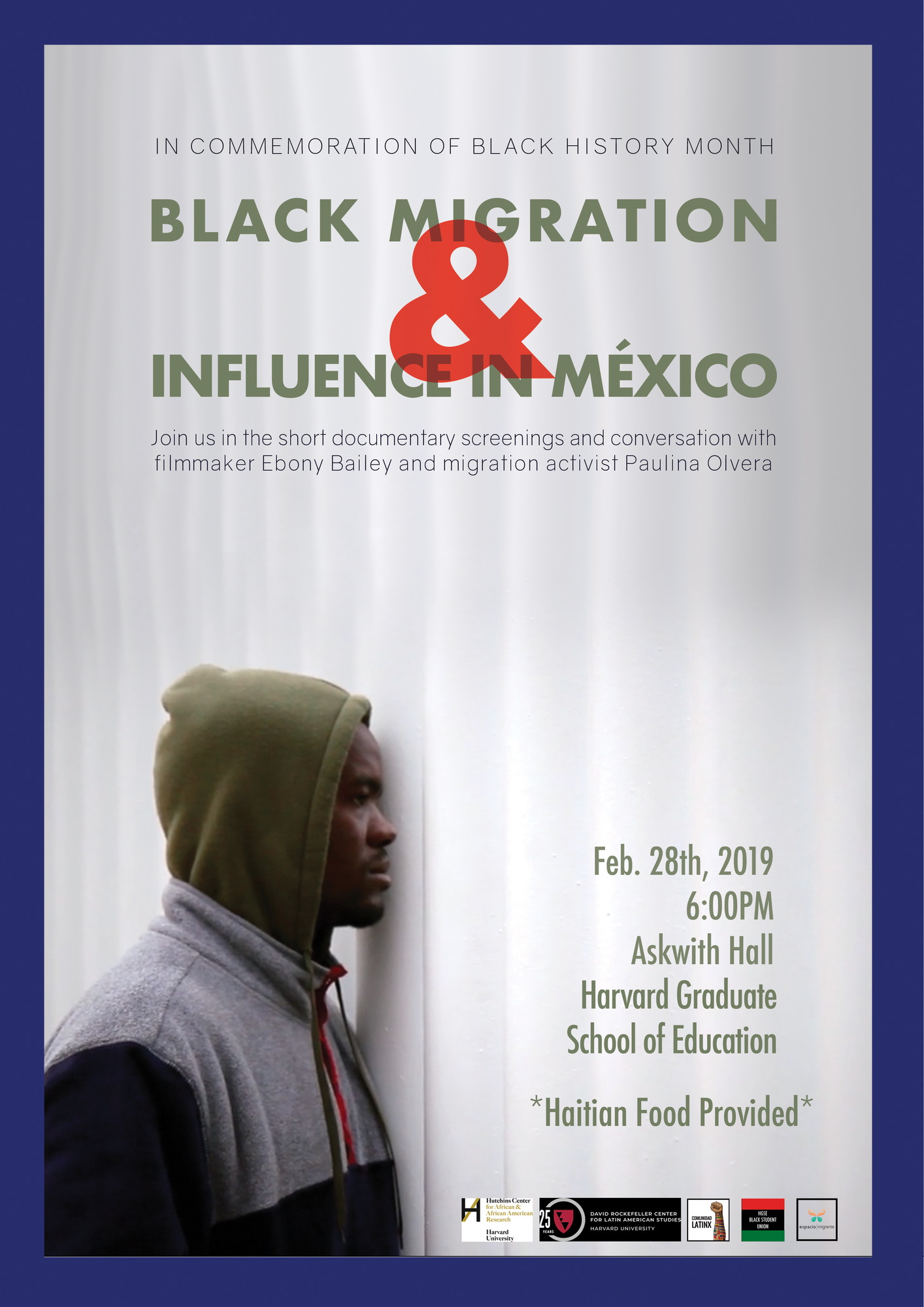Black Mexico Event Poster