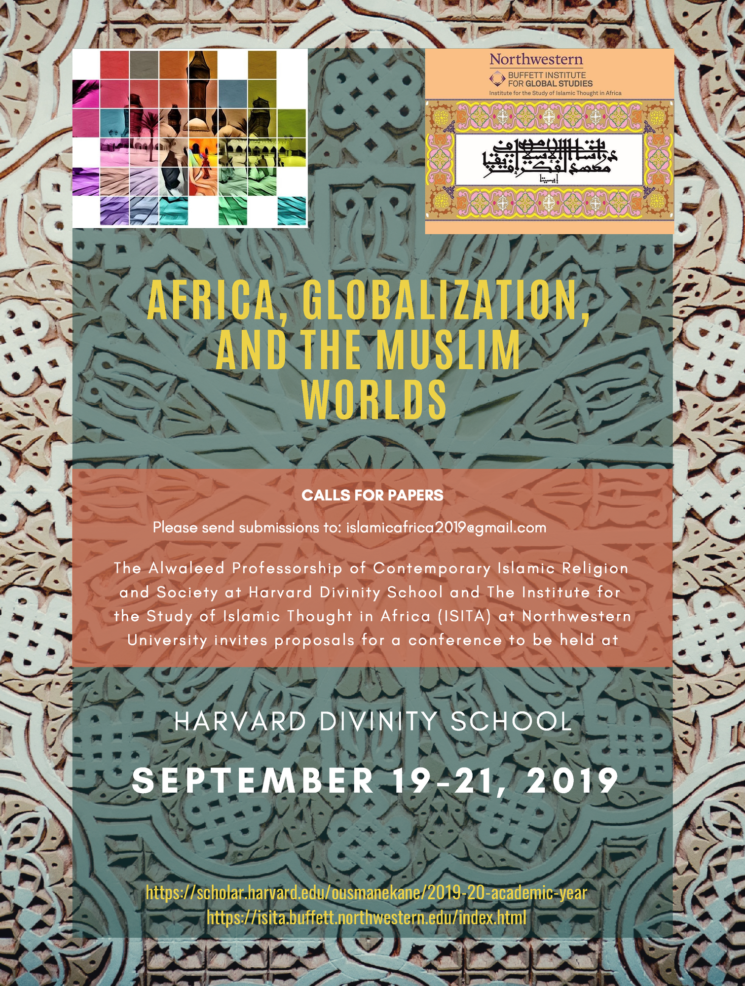Africa Globalization and the Muslim Worlds Call for Paper Poster