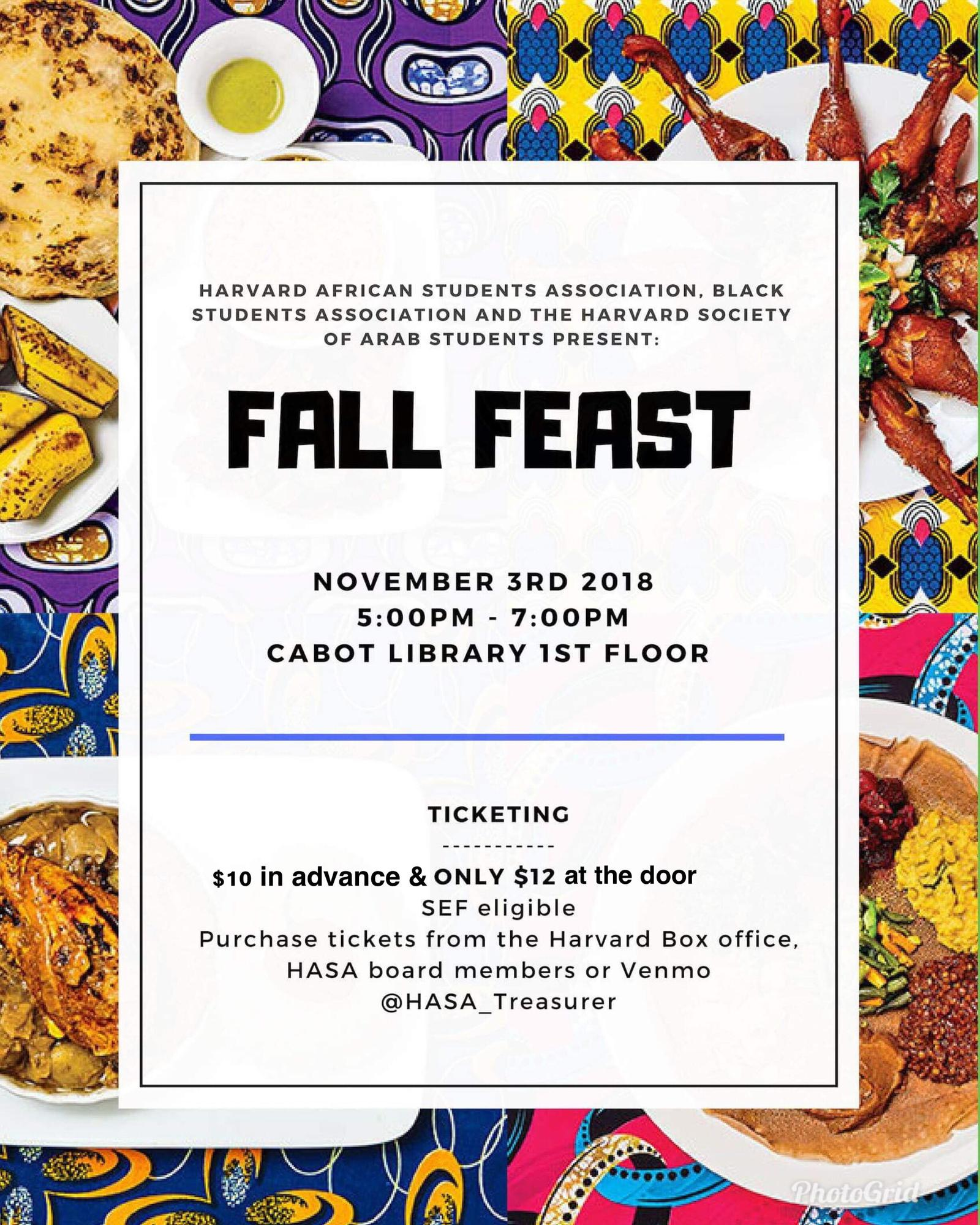 Fall Feast Poster